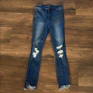 Abercrombie Simone High Rise Skinny Jean